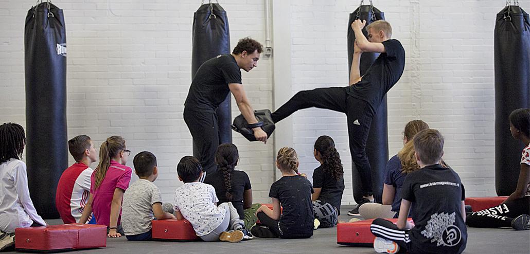 Krav Maga Kids wordt gegeven door hoogopgeleide instructeurs